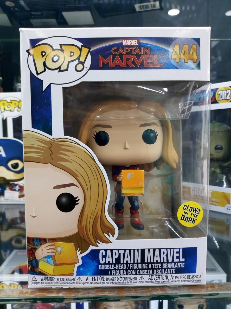 Funko Pop Marvel Captain Marvel 444 (Капитан Марвел)