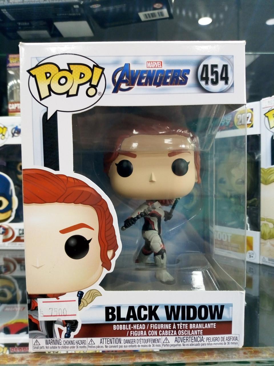 Funko Pop Marvel Black Widow 454 (Черная Вдова)