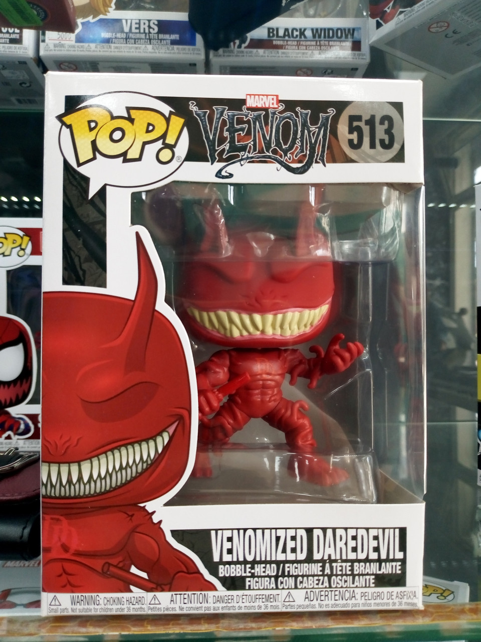 Funko Pop Venomized Daredevil 513 (Сорвиголова)