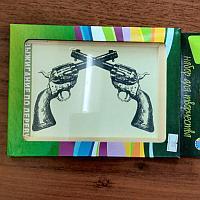 Доска для выжигания, револьверы