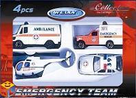 Игровой набор Служба спасения: Скорая помощь, Welly
