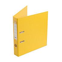 Папка–регистратор с арочным механизмом Deluxe Office 2-YW5 А4 50 мм 1200 мкм. (2 мм.) PVC/PVC Жёлтый