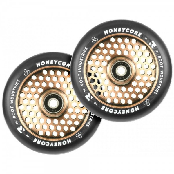 Комплект колёс на трюковой самокат Root Honeycore Wheels