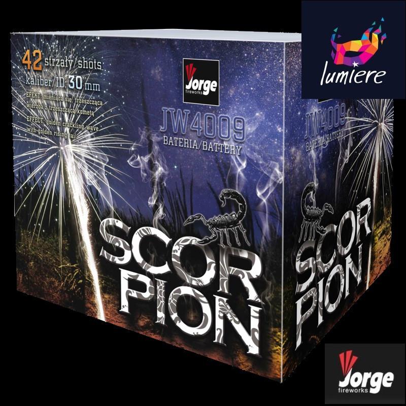 Батарея салютов Jorge JW4009 Scorpion