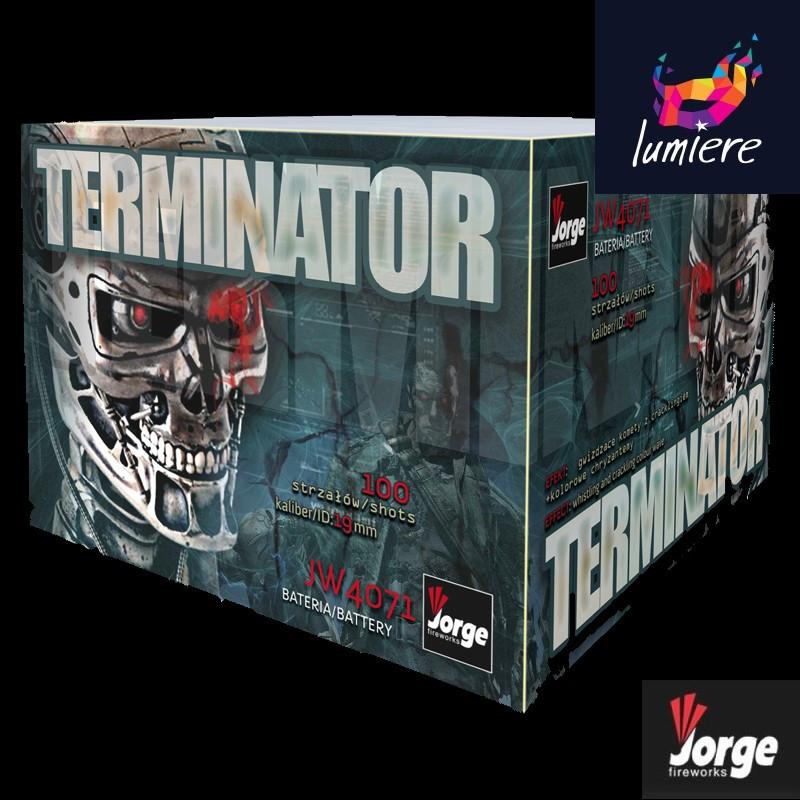 Батарея салютов Jorge JW4071 Terminator
