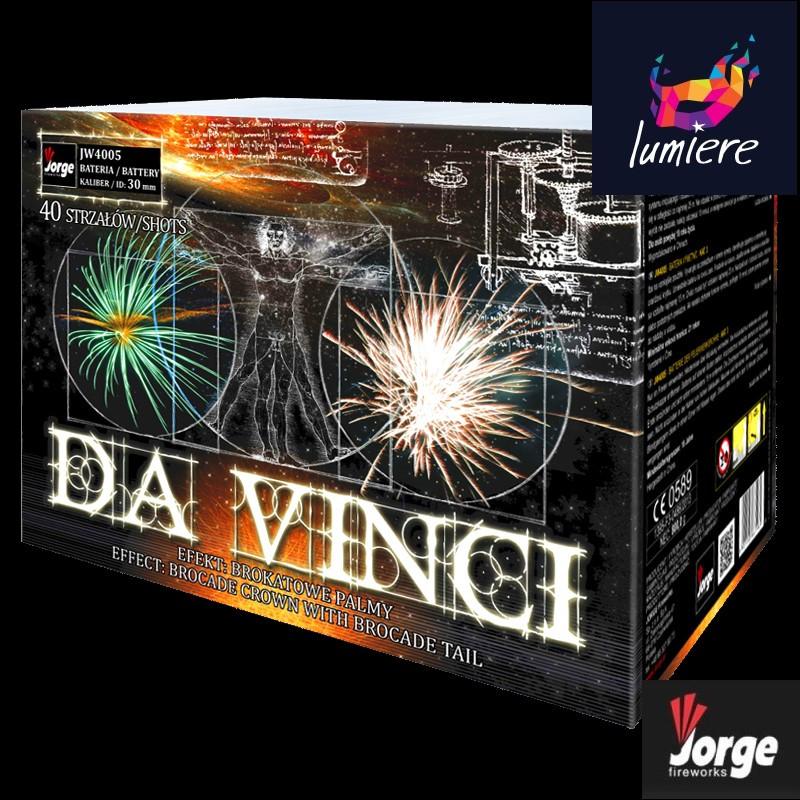 Батарея салютов Jorge JW4005 Da Vinci