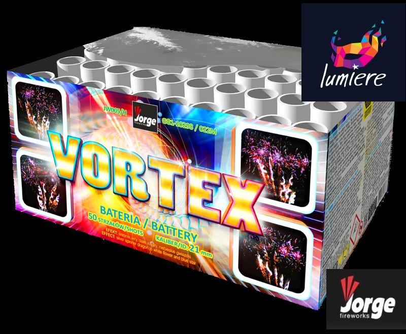 Батарея салютов Jorge JW005H Vortex
