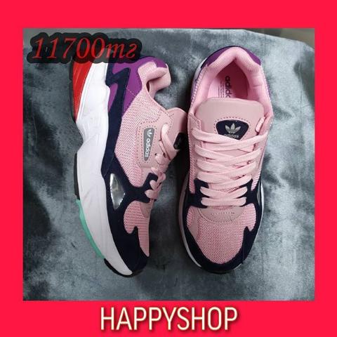 Кроссовки женские розовые Adidas 35-39 размер