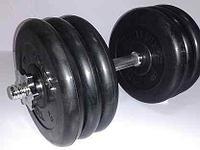 Гантель разборная 32 кг (диски по 5 кг)