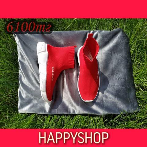 Кроссовки женские красные Balenciaga 35-39 размер