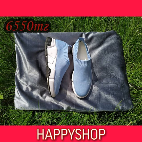 Кроссовки женские голубые Balenciaga 35-39 размер