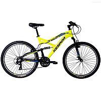 Горный велосипед Kespor 26 Sirius alloy, желтый