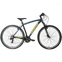 Горный велосипед Kespor 29 Inspiron alloy, черно-синий