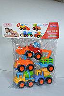 8626 Машинки набор строительная техника  4 в 1 для малышей в пакете 30*22см, фото 1