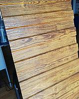 Профнастил ECOSTEEL_T-01-ЗолотойДуб 0,50 мм толщина с полимерным покрытием  С-8 х 1150 - A,B