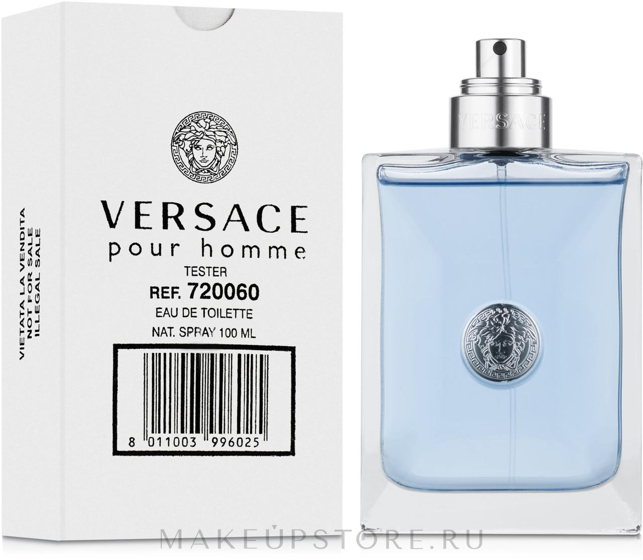 Versace Pour Homme edt Tester 100ml