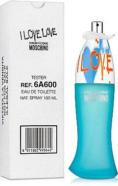Moschino Cheap and Chic I Love Love edt Tester 100ml
