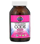 Garden of Life, Vitamin Code, для женщин, 240 вегетарианских капсул, фото 2