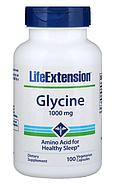 Life Extension, Глицин, 1000 мг, 100 вегетарианских капсул, фото 3