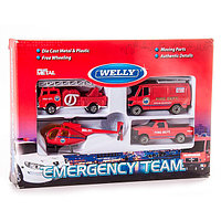 Игровой набор Служба спасения: Пожарная команда, Welly