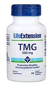 Life Extension, TMG (триметилглицин), 500 мг, 60 вегетарианских капсул с жидким содержимым, фото 3