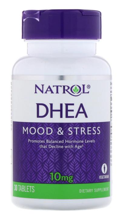 Natrol, ДГЭА, 30 таблеток 30 таблеток