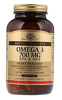 Solgar, Омега-3, ЭПК и ДГК, двойной концентрации, 700 мг, 120 мягких таблеток