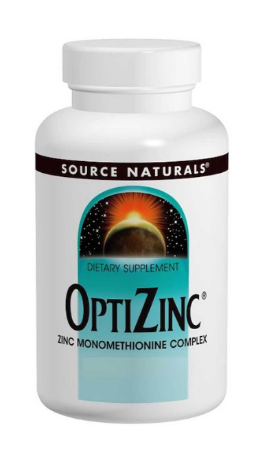 Source Naturals, OptiZinc, 240 таблеток