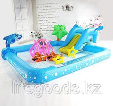 """Надувной игровой бассейн """"Фантастический аквариум"""" с горкой, Bestway 53052, фото 3"""