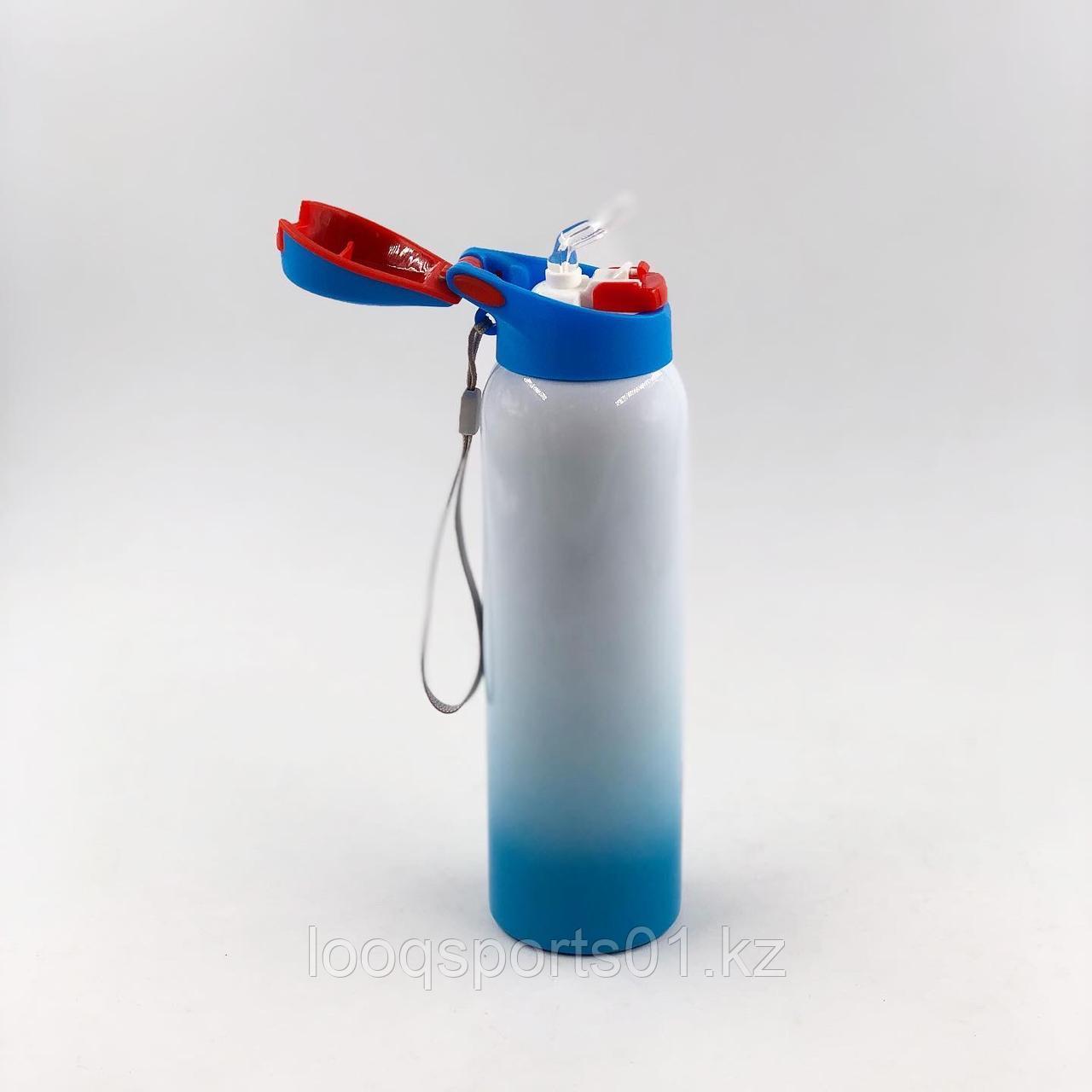 Металлическая термо бутылка для воды (термос)