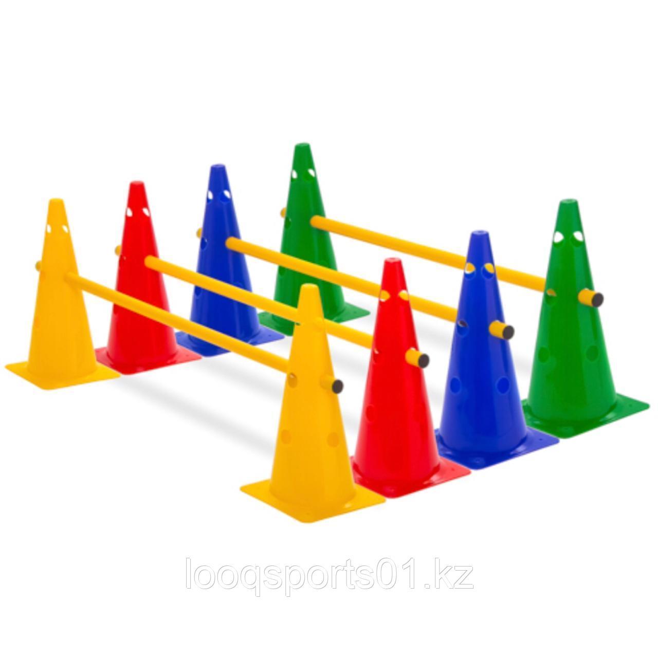 Фишки конус для разметки поля спортивная тренировочные