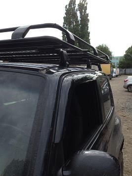 Багажник экспедиционный для Tagaz Taiger с сеткой