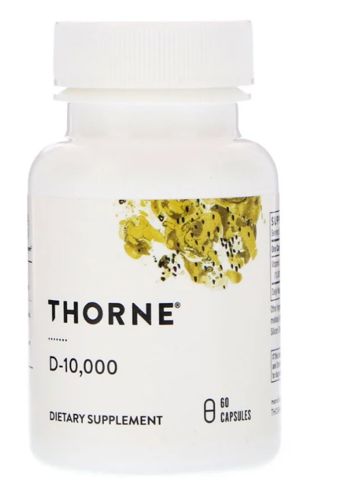 Thorne Research, D-10,000, 60 капсул
