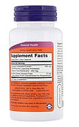 Now Foods, Натуральный Ресвератрол, 200 мг, 60 растительных капсул, фото 2
