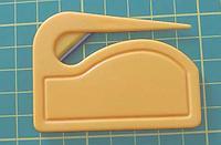 Пластиковый нож для бумаги и оракала, фото 1