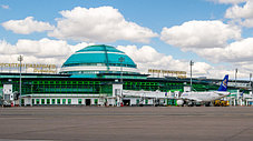 Реклама в аэропортах Казахстана