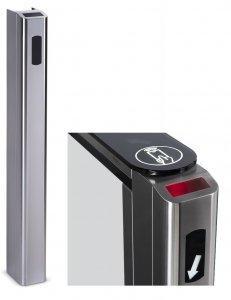 Передняя панель для установки сканера штрихкода PERCo-FP01Q