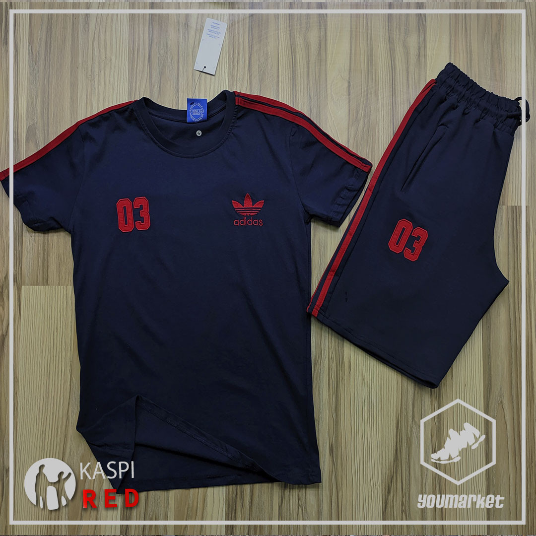 Спортивный костюм Adidas , шорты, футболка