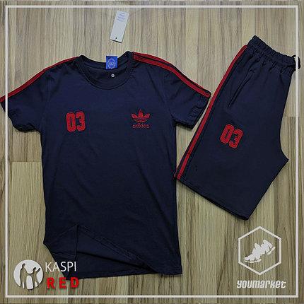 Спортивный костюм Adidas , шорты, футболка, фото 2