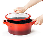 Кастрюля Nice Cooker HELIOS Series 24x12,0 см 4,5 л, фото 4