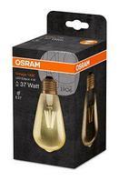 Лампа светодиодная OSRAM Vintage 1906 LED CL Edison,филаментная, GOLD 4,5W (замена 36Вт), 2500К, Е27