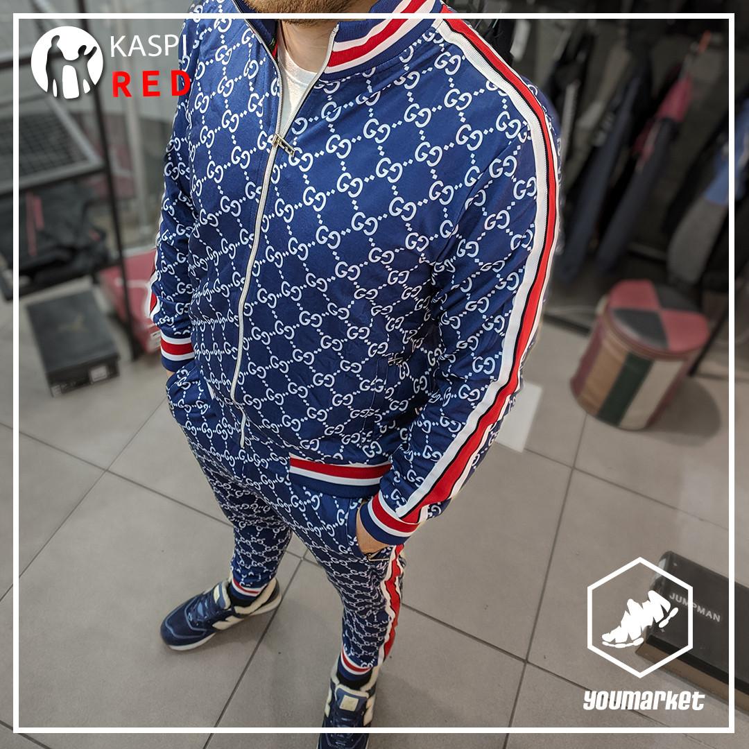 Спортивный костюм Gucci Blue в Алматы