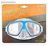 """Маска для плавания """"Surf Rider"""" 2 цвета, от 8 лет, Intex 55975"""