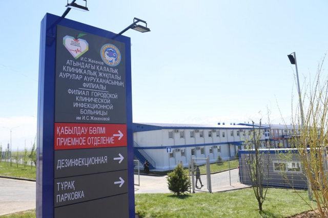 Филиал городской клинической инфекционной больницы им. И.С. Жекеновой