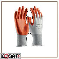 Перчатки рабочие с нитриловым покрытием (240)