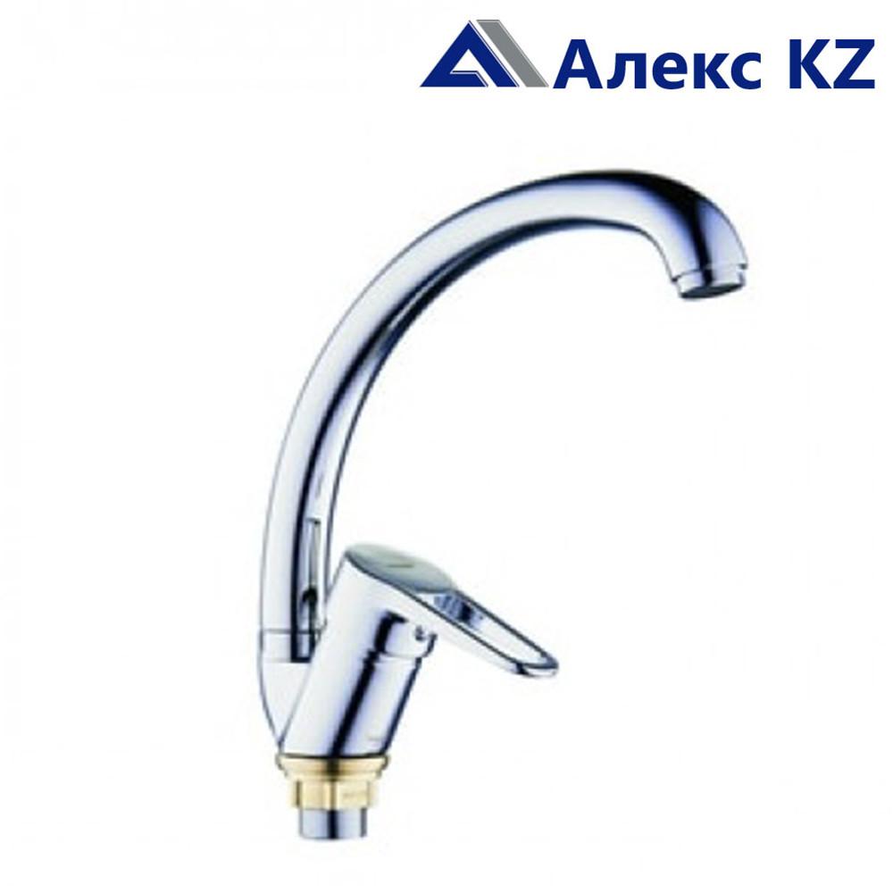 Смеситель ZEGOR PUD4-A146 для кухни, с высоким изливом