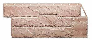 Фасадные панели Терракотовый 1080x452 мм (0,41 м2) Камень крупный FINEBER