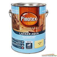 Лак на водной основе Pinotex Lacker Aqua для мебели и стен 2.7