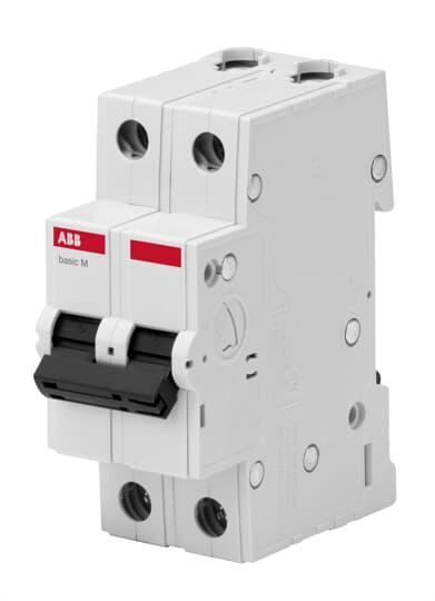 2CDS642041R0634 Автоматический выключатель  2P 63A C 4.5кА BMS412C63
