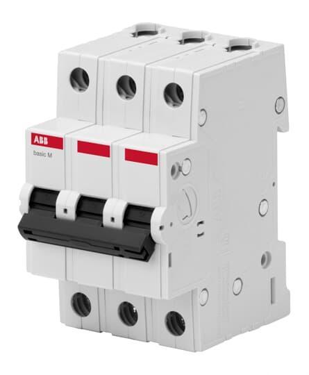 2CDS643041R0064 Автоматический выключатель  3P 6A C 4.5кА BMS413C06